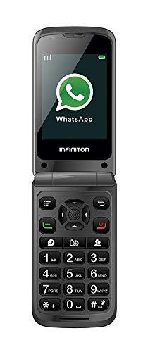 TELEFONO MOVIL F1 INFINITON (Incluye Whatsapp y Facebook, Movil...