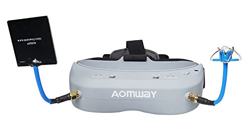 Aomway Commander V1 Diversity 3D 40CH 5.8G FPV Goggles w/DVR Support HDMI