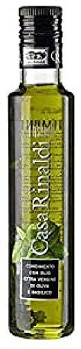 Casa Rinaldi Natives Olivenöl Extra mit Basilikum - Olio Extra Vergine Al Basilico