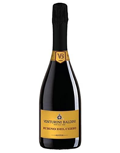 Reggiano DOP Lambrusco Spumante Rosso Brut Rubino del Cerro Venturini Baldini