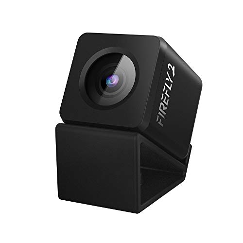 Mini Camera Hawkeye Firefly Micro Cam 2 2.5K 1080P HD Recording DVR FPV Camera Waterproof Mic 160 Degree Built-in Battery Low Latency Micro Camera for RC Drone Car Airplane Recording