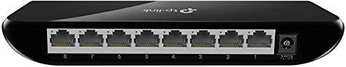 TP-Link 8 Port Gigabit Ethernet Network Switch   Ethernet Splitter   Plug-and-Play   Traffic Optimization   Unmanaged (TL-SG1008D)