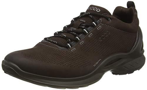 Ecco Outdoor Men's Biom Fjuel Walking Shoe, Mocha Nubuck Perforated, 45 M EU (11-11.5 US)