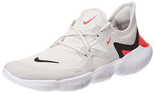 Nike Free Rn 5.0, Herren Laufschuhe, Grau (Vast Grey/Black-White-Bright Core 004), 43 EU (8.5 UK)