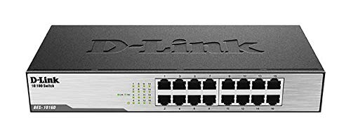 D-Link DES-1016D Switch 16 Porte Fast Ethernet...
