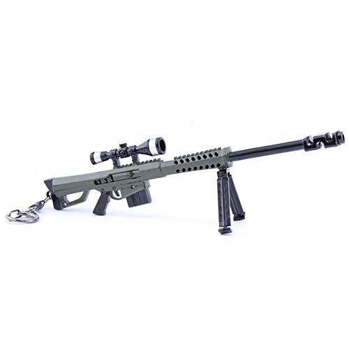 Chaorui Games Collection 1/6 Metal Destroyer Sniper Rifle Modelo Figura de acción Juguetes Colección Llavero Regalo