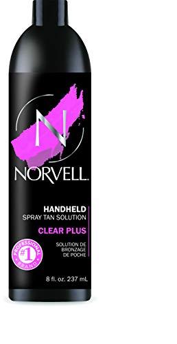 Norvell Premium Sunless Tanning Professional Spray Tan Solution - Clear Plus, 8 fl. oz.