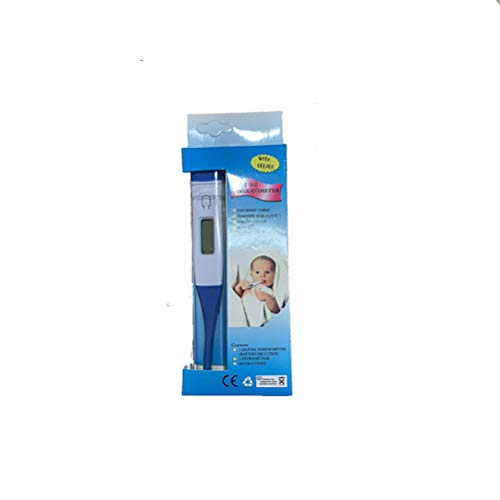 LCD Digital Medical Thermometer Fast Read Armpit Thermometer for Body Child Adult