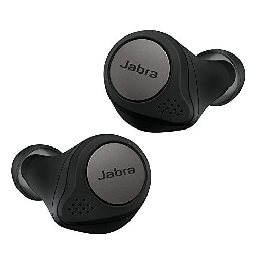 Jabra Elite Active 75t – Sport-Kopfhörer mit aktiver Geräuschunterdrückung und langer Akkulaufzeit für True-Wireless-Erlebnis bei Telefonaten und Musik – Titanium Schwarz