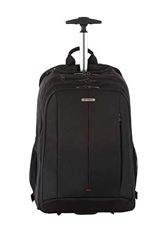 Samsonite Guardit 2.0, 17.3 Pollici Zaino Porta PC con Ruote, 48 cm, 29 L, Nero (Black)