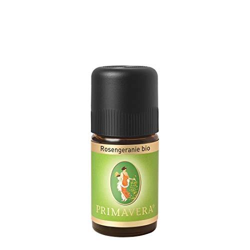 PRIMAVERA Ätherisches Öl Rosengeranie bio 5 ml - Aromaöl, Duftöl, Aromatherapie - ausgleichend, regenerierend - vegan