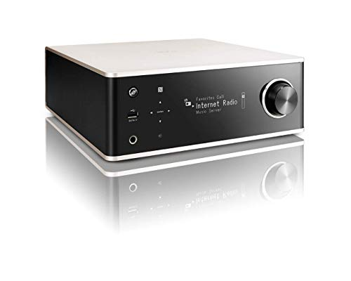 Denon DRA100SPE2 DRA-100 Design Serie Receiver (Spotify Connect, NAS, WLAN, USB, Aux-In, Bluetooth, AirPlay, 2x 70 Watt) alu/schwarz