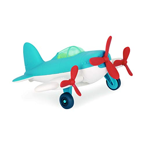 Wonder Wheels by Battat – Airplane – Toy Airplane for Toddlers Age 1 & Up (1 Pc) – 100% Recyclable