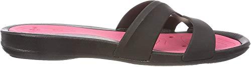 Arena Athena Woman Hook, Zapatos de Playa y Piscina para Mujer, Multicolor (Black/Fuchsia 509), 38 EU