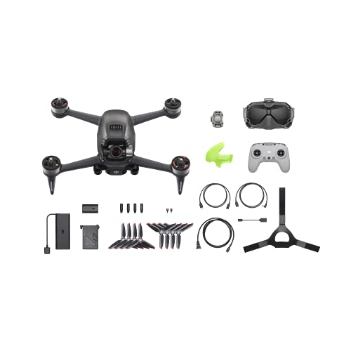 Product Image 5: DJI FPV Combo - First-Person View Drone UAV Quadcopter with 4K Camera, S Flight Mode, Super-Wide 150° FOV, HD Low-Latency Transmission, Emergency Brake and Hover, Gray