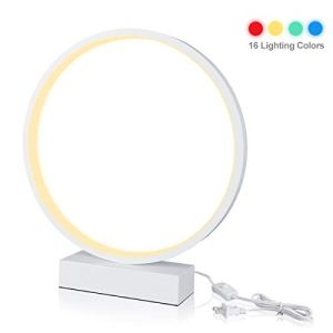 Smart Lamp,LANMU Smart Table Lamp,Dimmable Nightstand Lamp Compatible with Alexa/Google Home Assistant,Table LED Light,Smart Phone Remote Controlled Lamp for Bedroom Living Room Kitchen