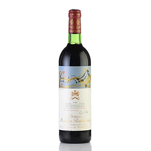 シャトー ムートン ロートシルト 1981 ロスチャイルド フランス ボルドー 赤ワイン