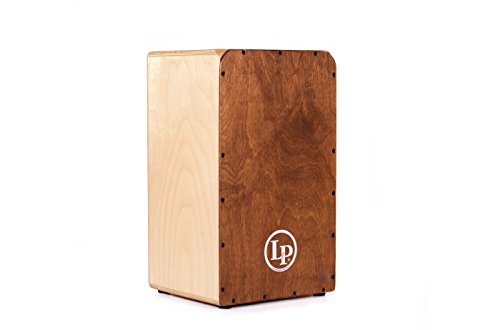 Latin Percussion Cajon, Natural with Dark Face, inch (LP1427)