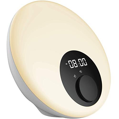 Wake-Up Light Alarm Clock with Sunrise Simulation -...