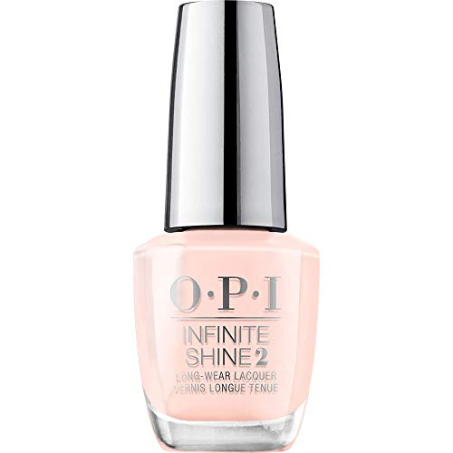 OPI Nail Polish, Infinite Shine Long Lasting Nail Polish, Bubble Bath, Nude / Pink Nail Polish, 0.5 Fl Oz