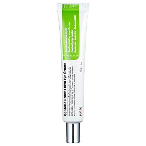 PURITO Centella Green Level Eye Cream 30ml/Dark Circles/Around Eyes/Wrinkles/Puffiness that Reduces Eye Bags, Fine Lines