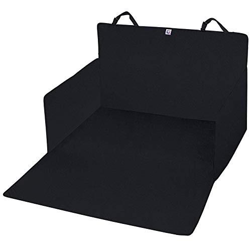 PET VIOLET Universal Auto Kofferraum-Schutzdecke Reißfest mit Seitenwand und Ladekantenschutz