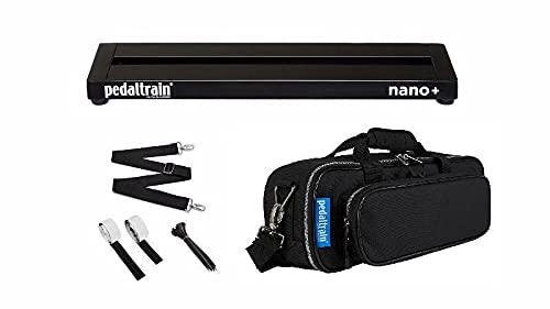 Pedaltrain Nano + with Soft Case PT-NPL-SC , Black