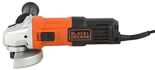 BLACK+DECKER G650 650W 4''/100mm Small Angle Grinder (Red & Black) (G650-IN)
