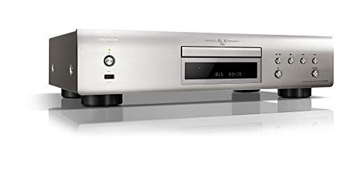 Denon DCD800NESPE2 CD-Player (Aluminium Frontblende, ECO-Standby, Front USB) Premium Silber