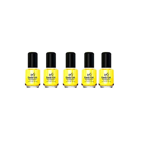 Famous Names Dadi' Oil - Nail & Cuticle Conditioner Treatment / 1/8 oz (Set of 5)