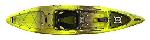 Perception Kayaks Pescador Pro 12   Sit on Top Fishing Kayak with Adjustable Lawn Chair Seat   Large...