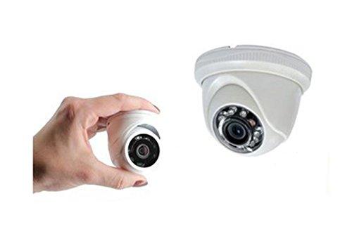 Micro Mini Telecamera Videosorveglianza Dome 12 LED Ahd 2Mp 3.6Mm Ly-1208