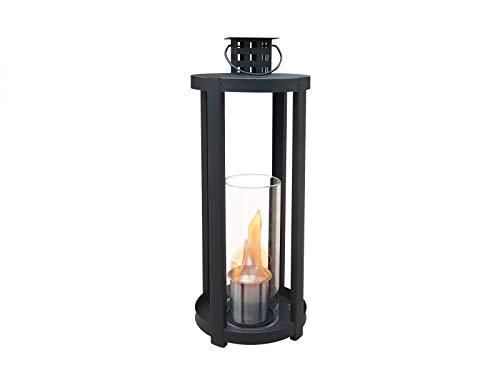 PURLINE CHAOS Bio-ethanol fireplace table lamp