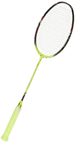 Ashaway Phantom X Speed Carbon-Graphite Badminton Racquet, G2-4U with Free Kit Bag (Green/Black)