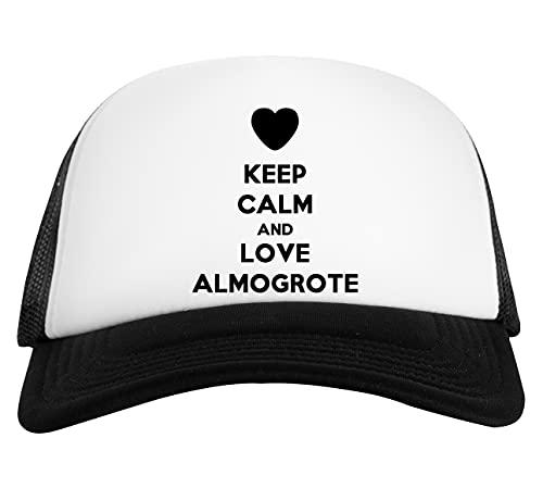 Keep Calm and Love Almogrote Gorra De Béisbol Unisex Blanca