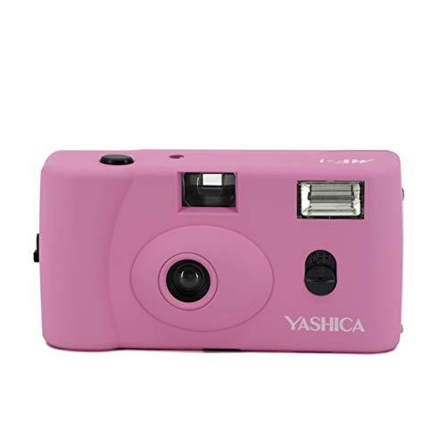 YASHICA 【フィルムカメラ】YASHICA MF-1 Camera Pink with Yashica 400 ピンク