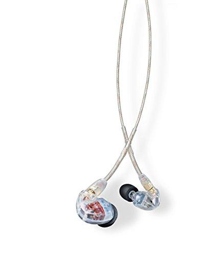 Shure Auriculares Aislantes de Sonido SE535, Color Transparente