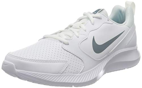 Nike Men's White/Ozone Blue Shoes - 9 UK (9.5 US)