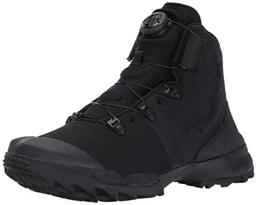 Under Armour Men's Infil Military and Tactical Boot, Black (001)/Black, 13