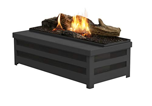 Planika Basket Fire Logs Automatic Ethanol Burner with Remote Control