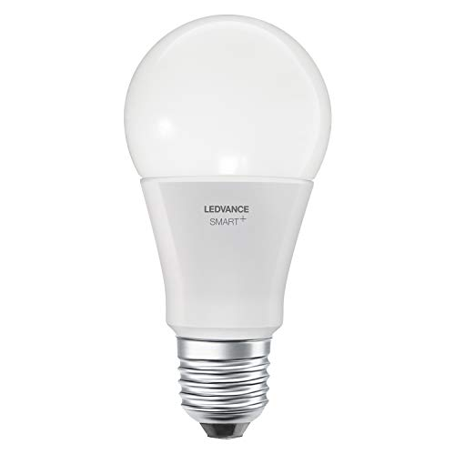 LEDVANCE Smart+ Ampoule LED Connectée | Culot E27 | Forme Standard | Dimmable | Blanc Chaud/Froid | 8,5W (équivalent 60W) | Compatible avec Amazon Echo Plus, Echo Show et passerelle Philips HUE