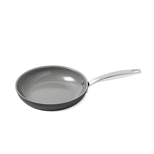 "GreenPan Chatham 8"" ceramic Non-Stick Open Frypan, Grey - CC000118-001"