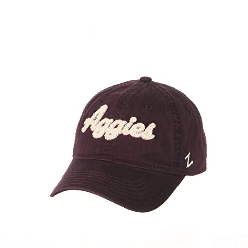 NCAA Zephyr Texas A&M Aggies Womens Laurel Relaxed Hat, Adjustable, Primary Team Color