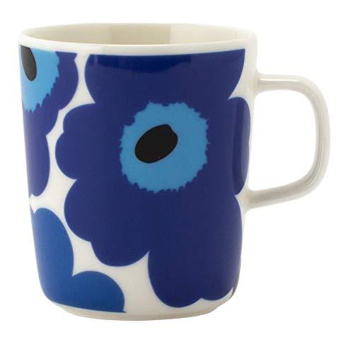 マリメッコ MARIMEKKO マグカップ ウニッコ UNIKKO 250ml ブルー 63431-017 [並行輸入品]