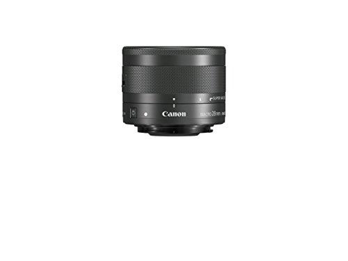 Canon EF-M 28mm f/3.5 Macro IS STM Lens, Black - 1362C005