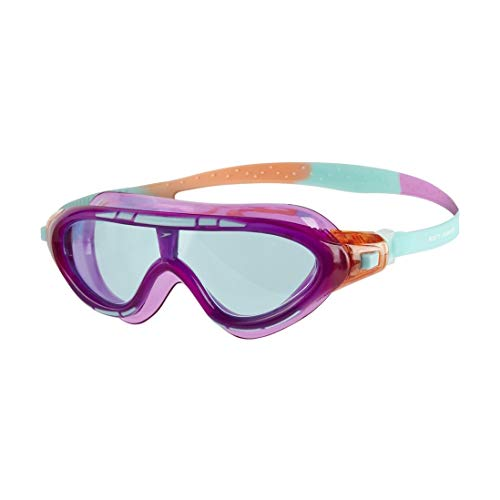 Speedo Kinder Biofuse Rift Junior Goggles, Orchid/Soft Coral/Peppermint, One Size