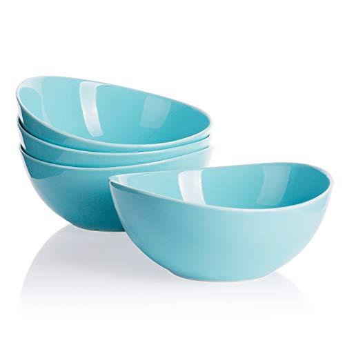 Porcelain Bowls, Turquoise