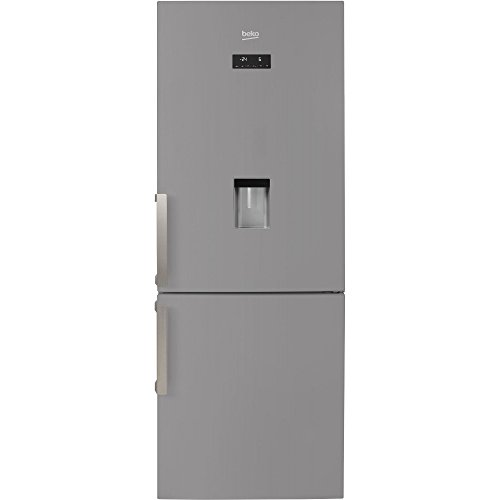 Beko RCNE520E31DS Libera installazione 450L A++ Argento frigorifero con congelatore