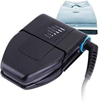 HEMJEX Folding Portable Travel Iron Electronic Foldable Mini Handheld Travelling Business Trips...