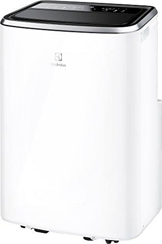 Electrolux EXP26U338CW Chillflex Pro 11 condizionatore d'aria portatile 10.874 BTU, Gas R290, sistema autoevaporante, 1000 W, 45 Decible, bianco